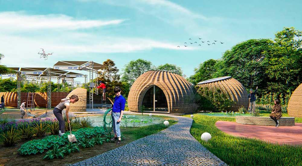 TECLA, las primeras casas impresas en 3D con arcilla de origen local